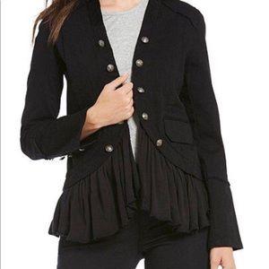 Jolt Military Ruffler Jacket